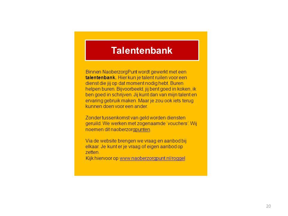 Talentenbank