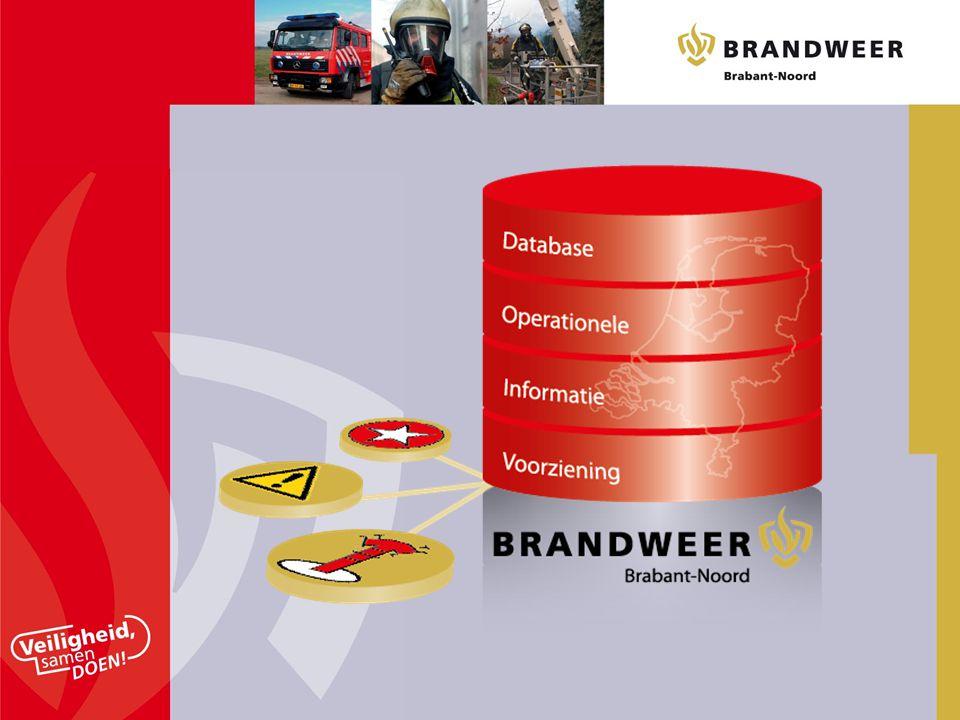 Project gestart door Brandweer Brabant Noord om alle gebruikers aan te schrijven en gegevens te update . Deze gegevens moeten duidelijkheid verschaffen voor operationele diensten van de brandweer.