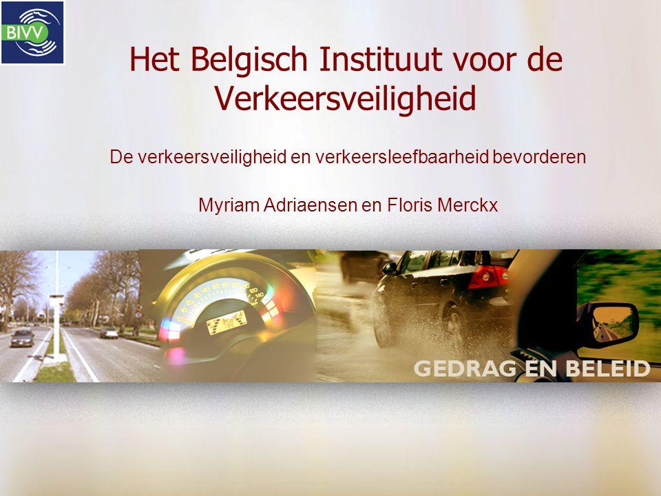 Het Belgisch Instituut voor de Verkeersveiligheid