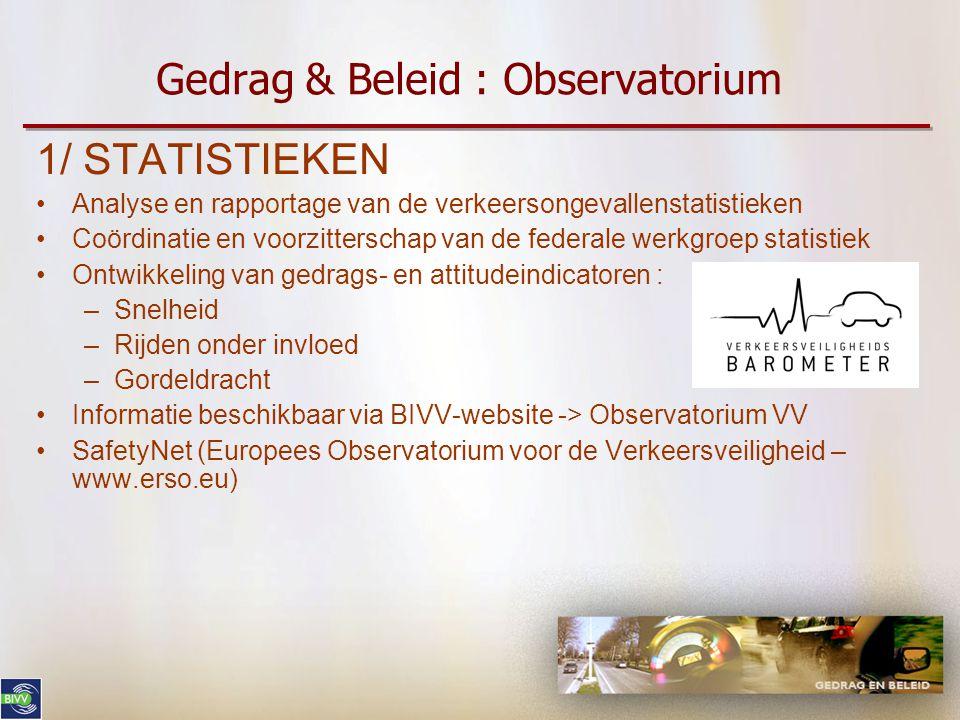 Gedrag & Beleid : Observatorium