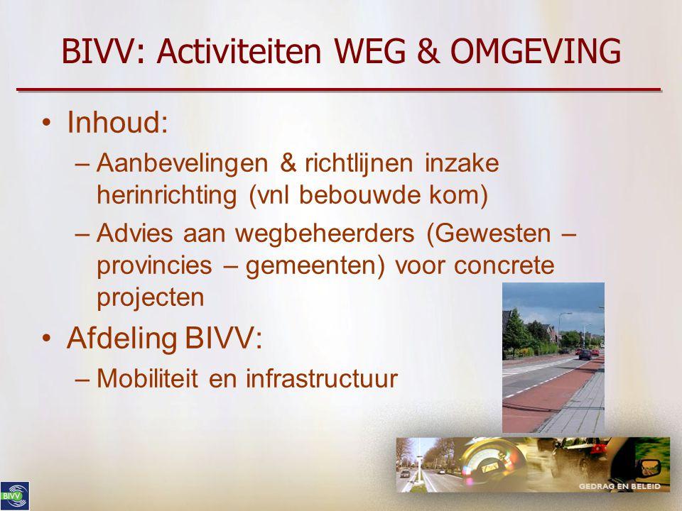 BIVV: Activiteiten WEG & OMGEVING