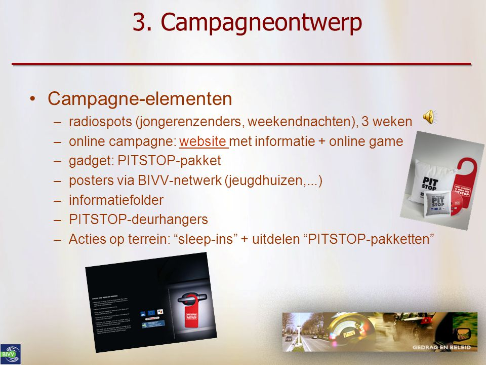 3. Campagneontwerp Campagne-elementen