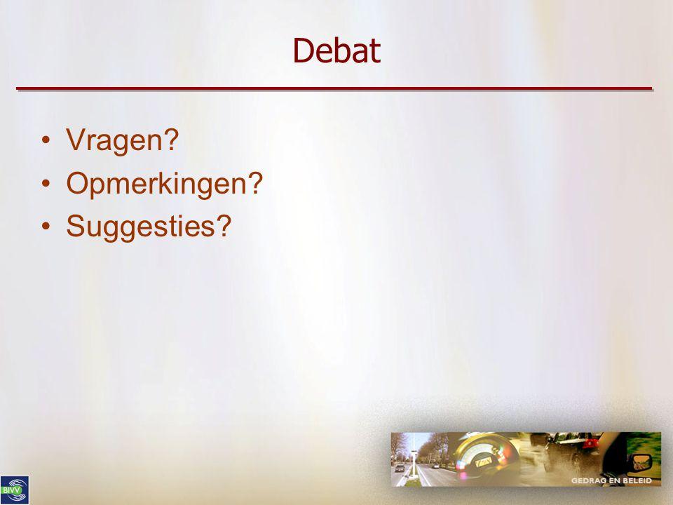 Debat Vragen Opmerkingen Suggesties