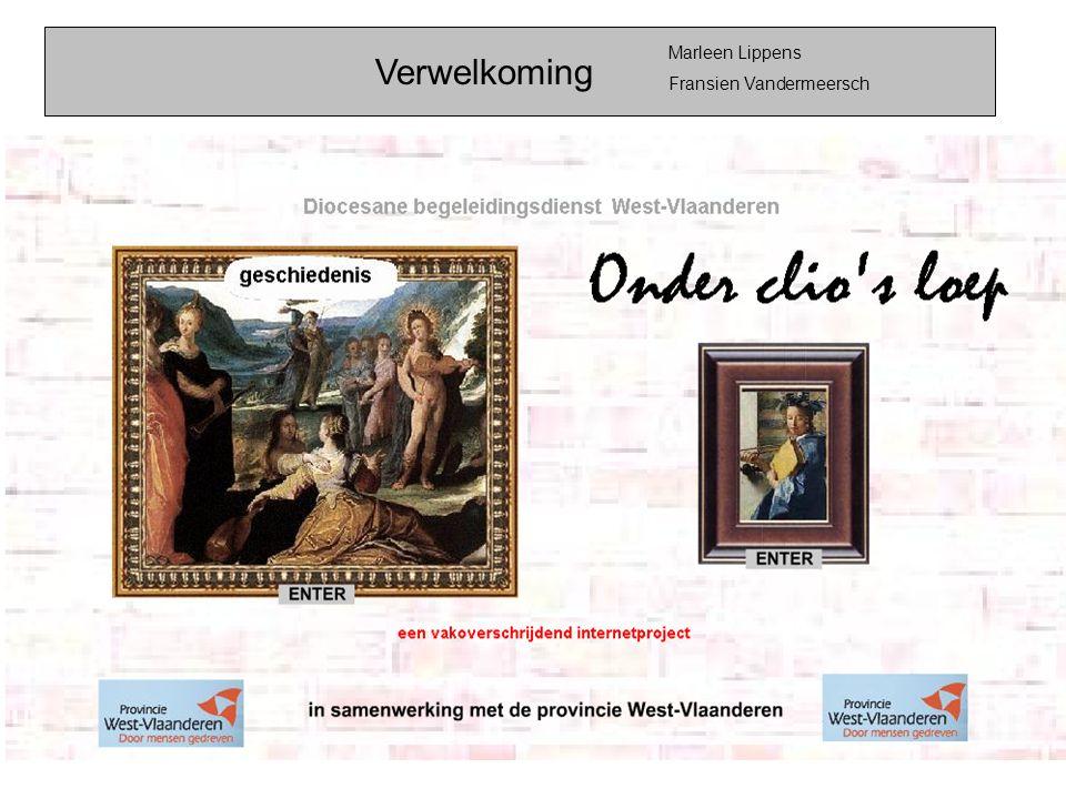 Marleen Lippens Fransien Vandermeersch Verwelkoming