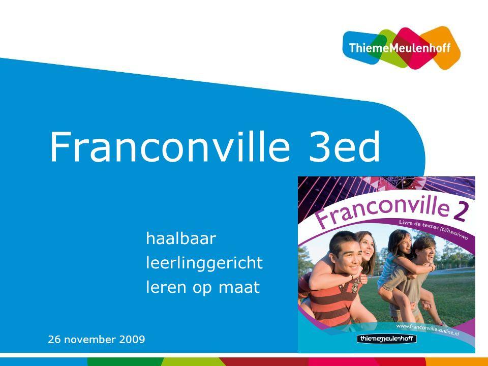 Franconville 3e editie haalbaar leerlinggericht leren op maat