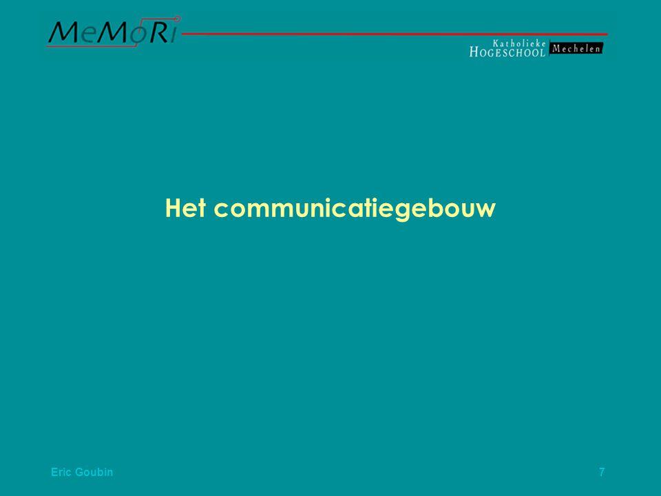 Het communicatiegebouw