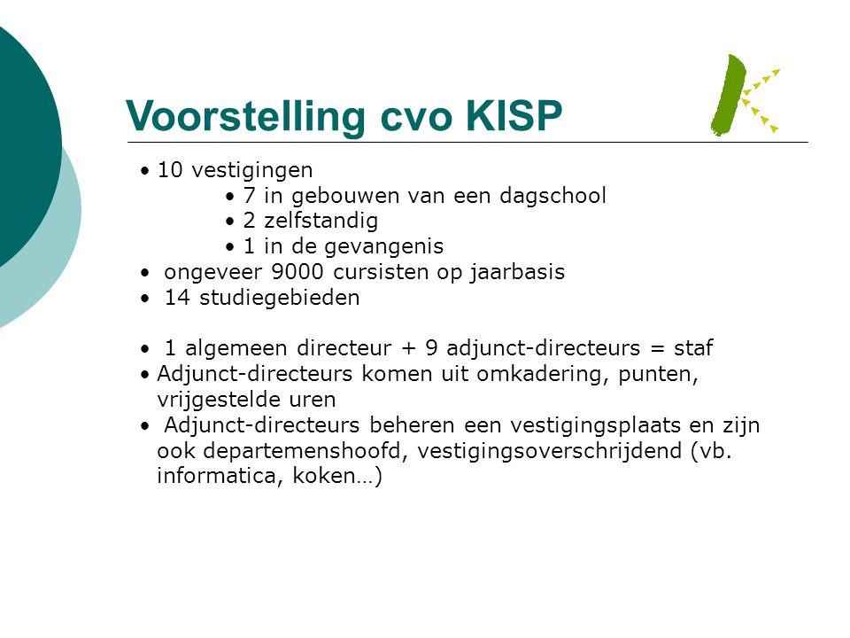 Voorstelling cvo KISP 10 vestigingen 7 in gebouwen van een dagschool