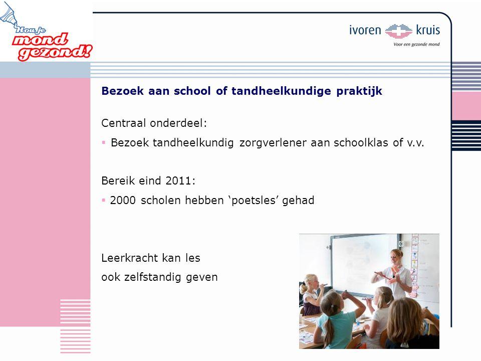Bezoek aan school of tandheelkundige praktijk