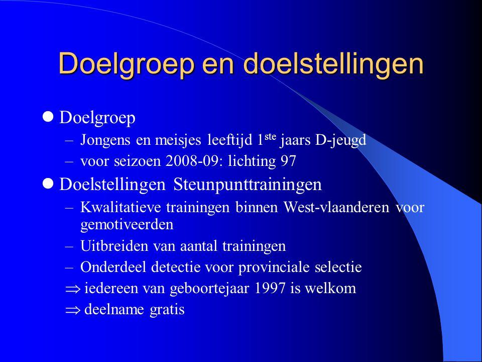 Doelgroep en doelstellingen