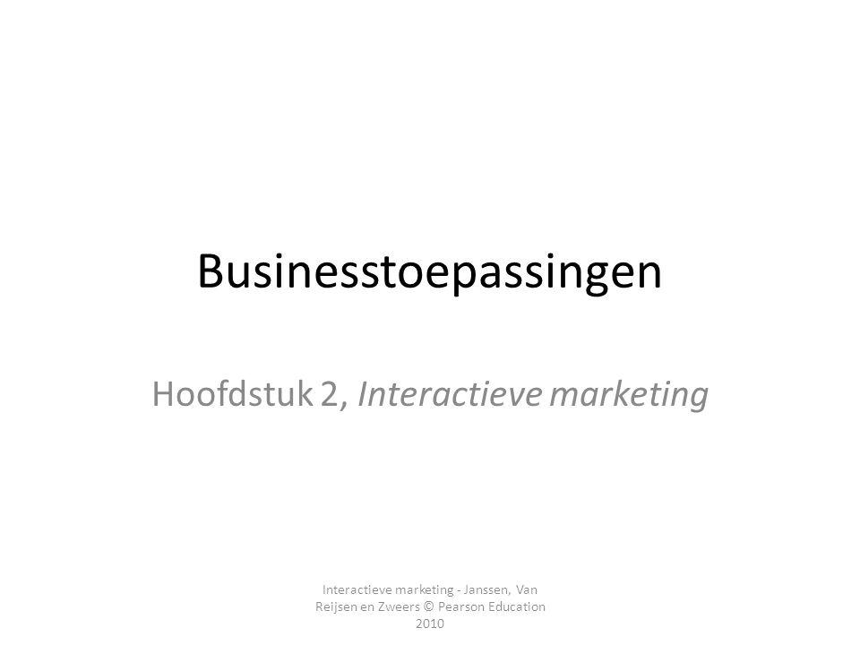 Businesstoepassingen