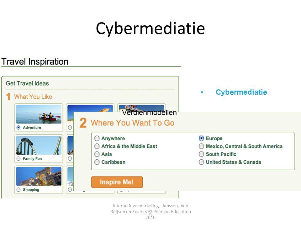 Cybermediatie Tussenpersonen Cybermediatie Verdienmodellen