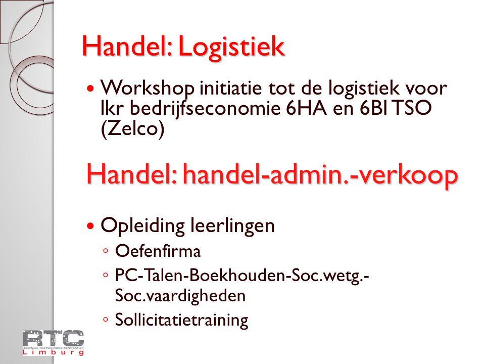 Handel: handel-admin.-verkoop