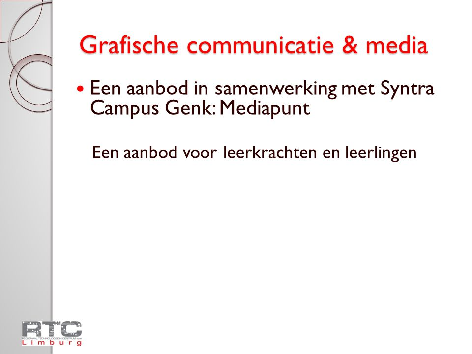 Grafische communicatie & media