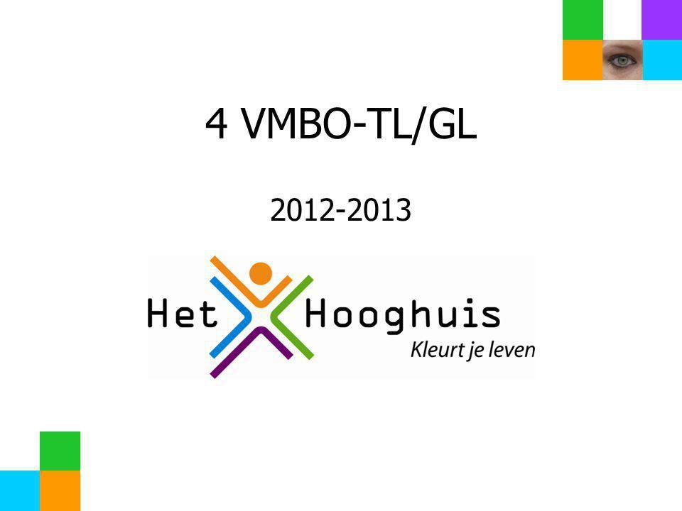 4 VMBO-TL/GL 2012-2013 We hebben dit jaar 96 Examenkandidaten.