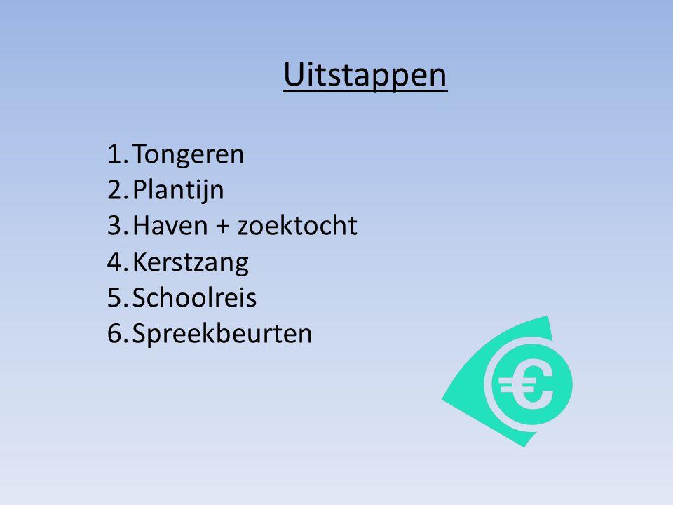 Uitstappen Tongeren Plantijn Haven + zoektocht Kerstzang Schoolreis