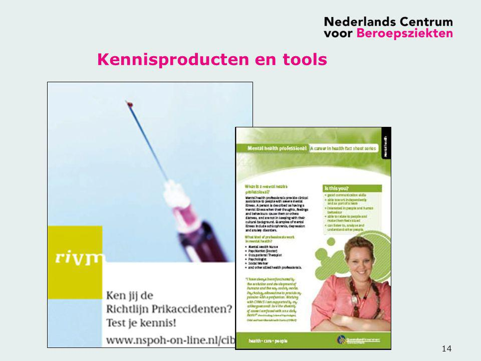 Kennisproducten en tools