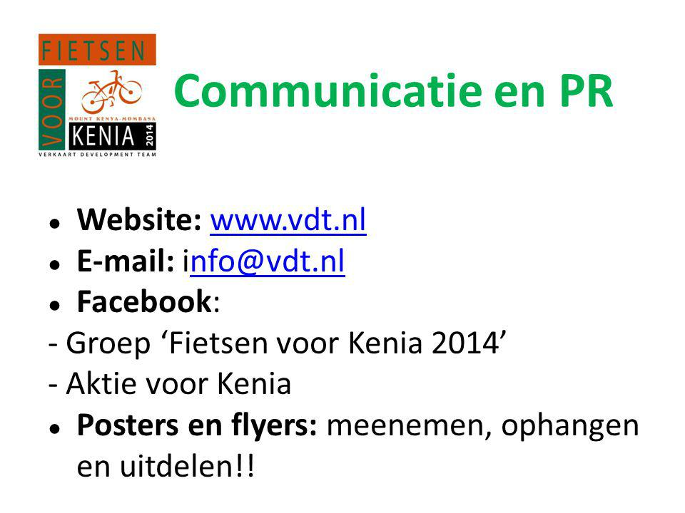 Communicatie en PR Website: www.vdt.nl E-mail: info@vdt.nl Facebook: