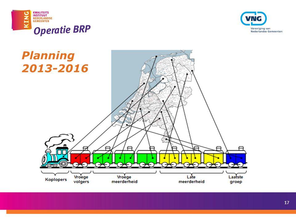 Mei 2012 Planning 2013-2016