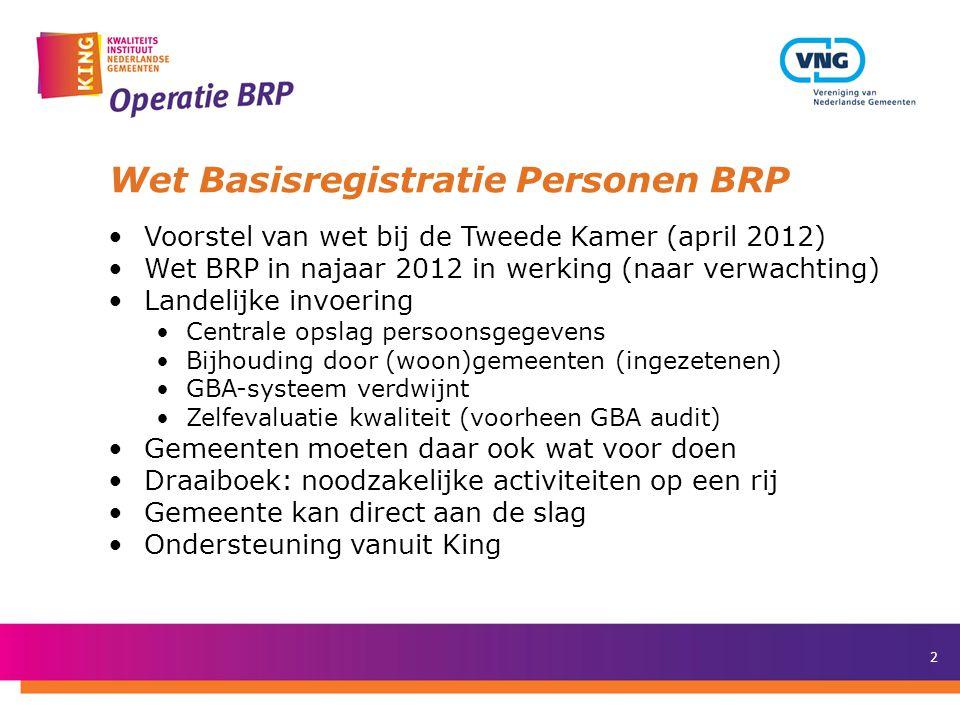 Wet Basisregistratie Personen BRP