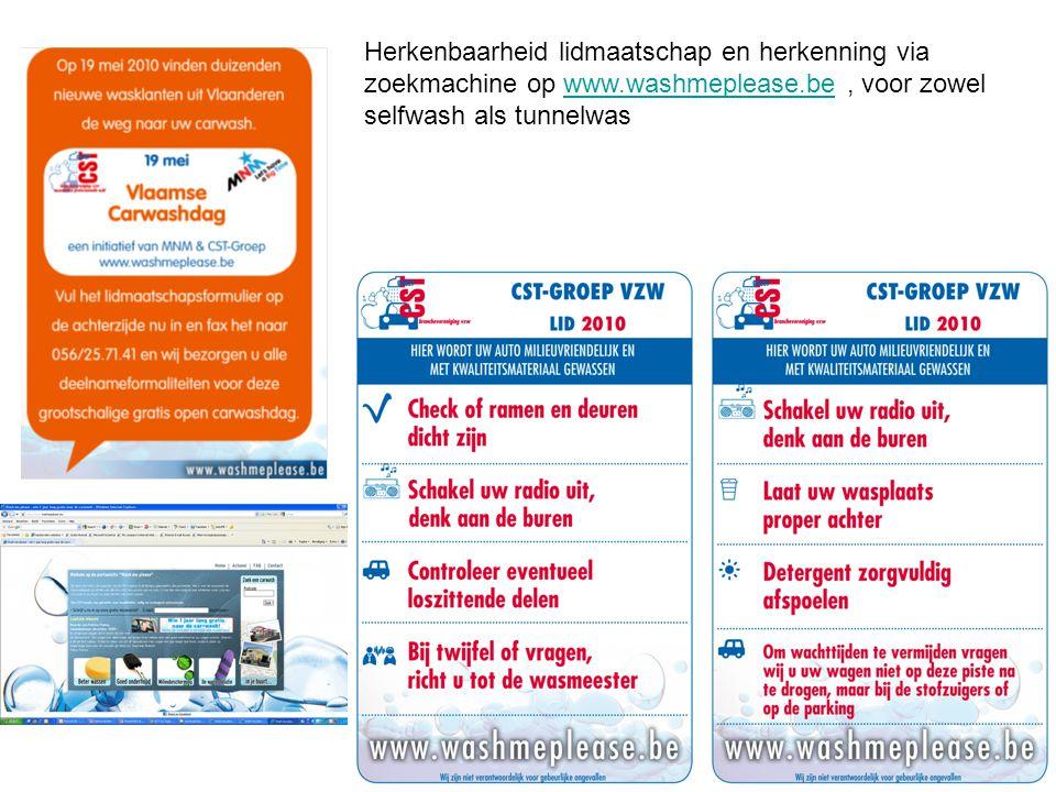 Herkenbaarheid lidmaatschap en herkenning via zoekmachine op www