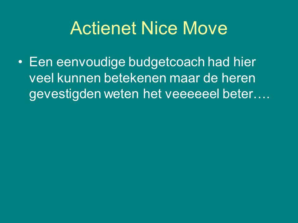 Actienet Nice Move Een eenvoudige budgetcoach had hier veel kunnen betekenen maar de heren gevestigden weten het veeeeeel beter….