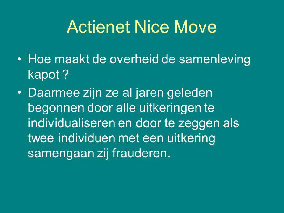 Actienet Nice Move Hoe maakt de overheid de samenleving kapot