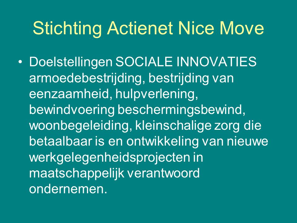 Stichting Actienet Nice Move