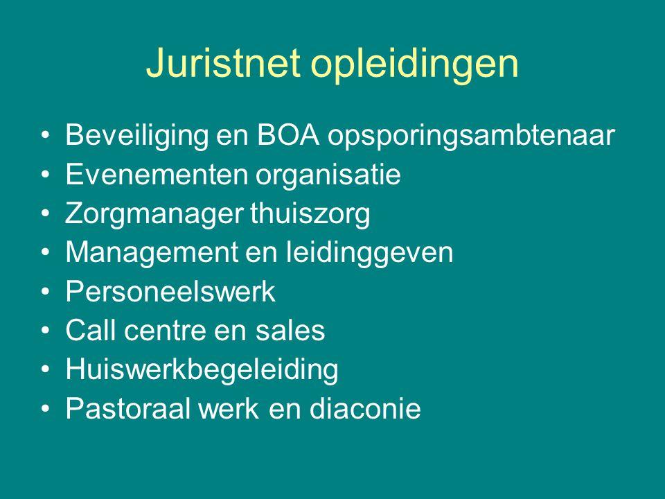Juristnet opleidingen