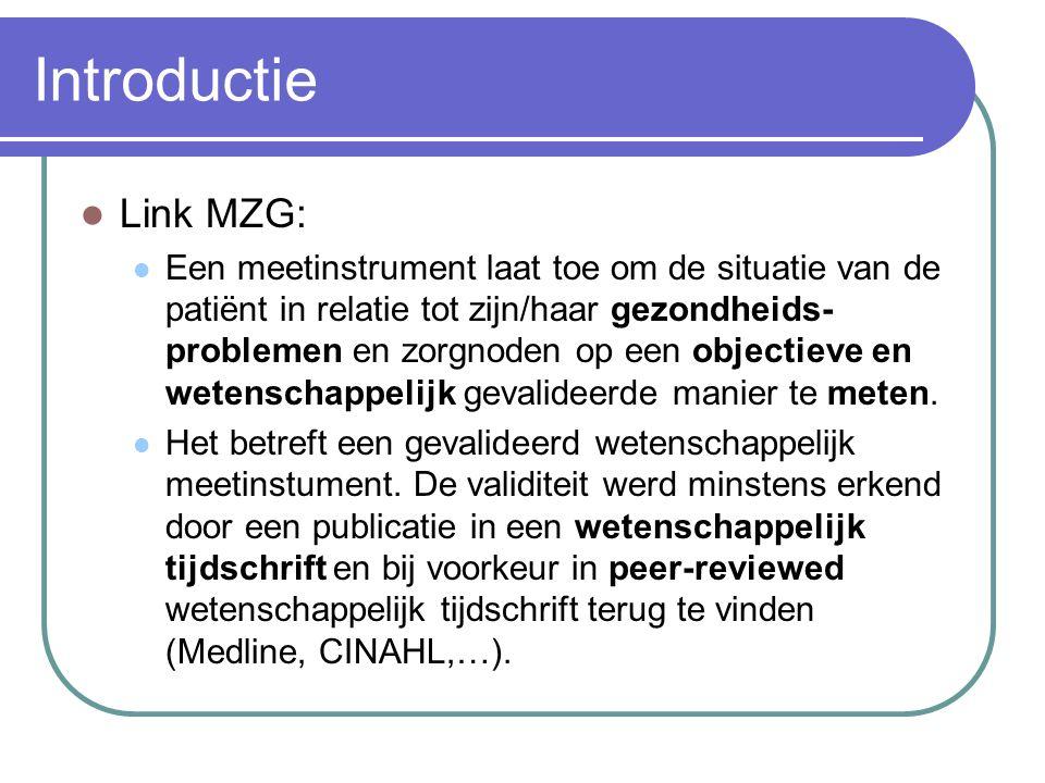 Introductie Link MZG: