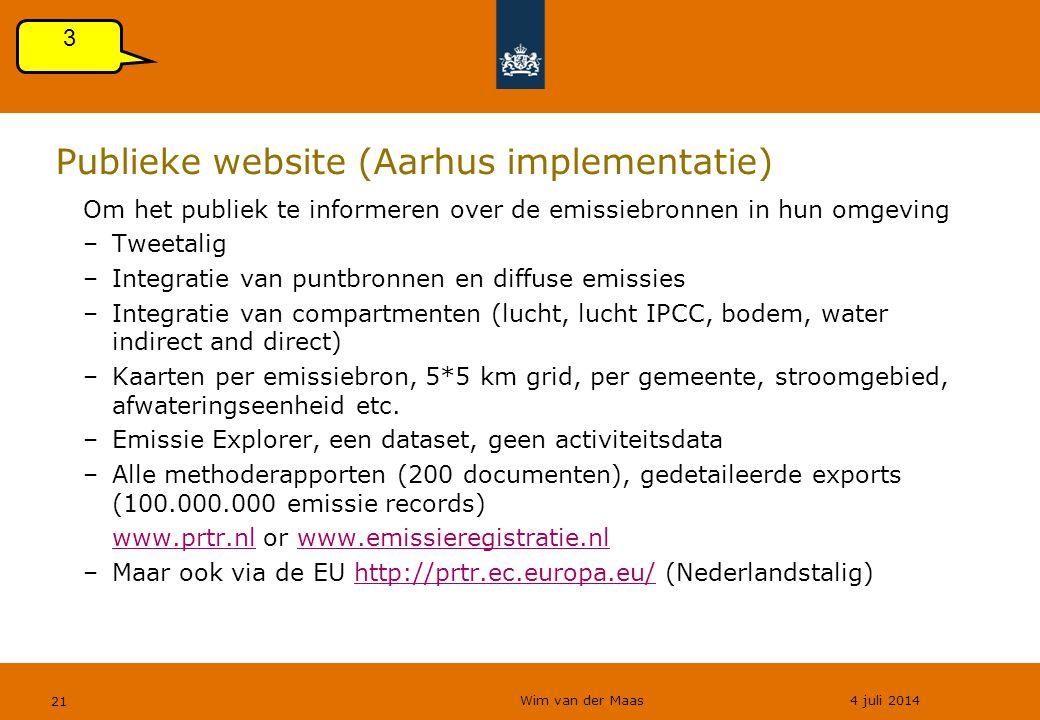 Publieke website (Aarhus implementatie)