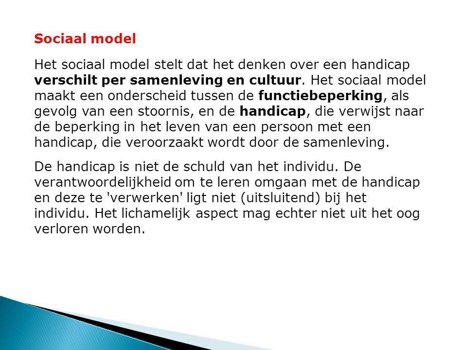Sociaal model