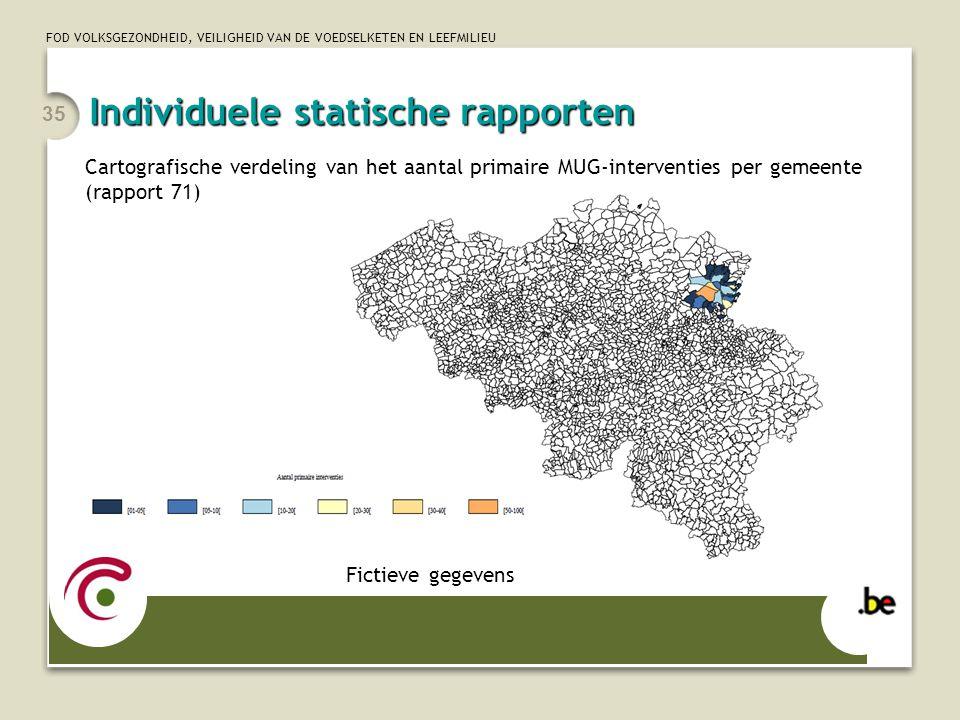 Individuele statische rapporten