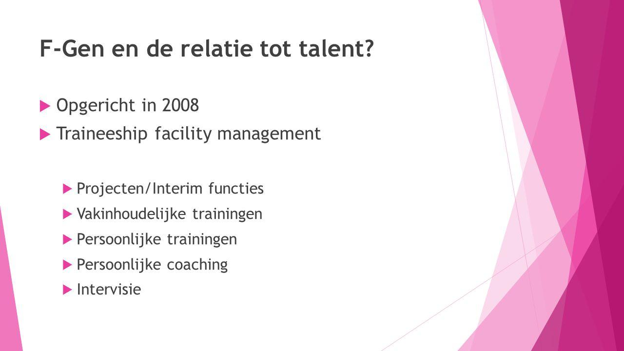 F-Gen en de relatie tot talent