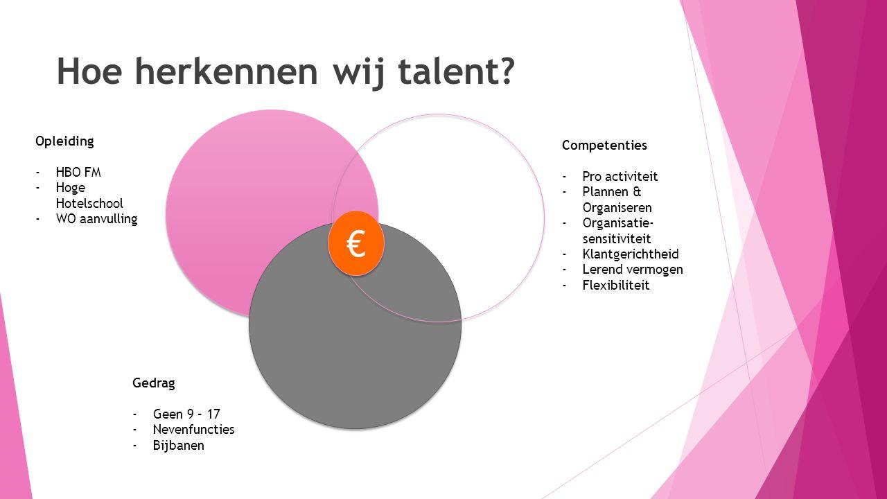 Hoe herkennen wij talent