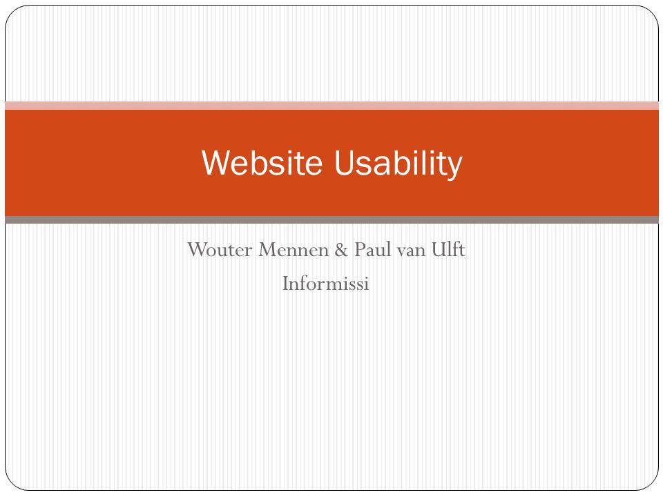 Wouter Mennen & Paul van Ulft Informissi