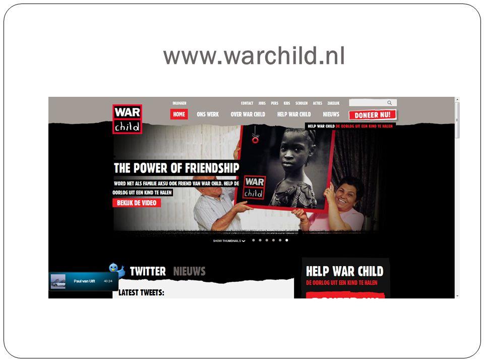 www.warchild.nl