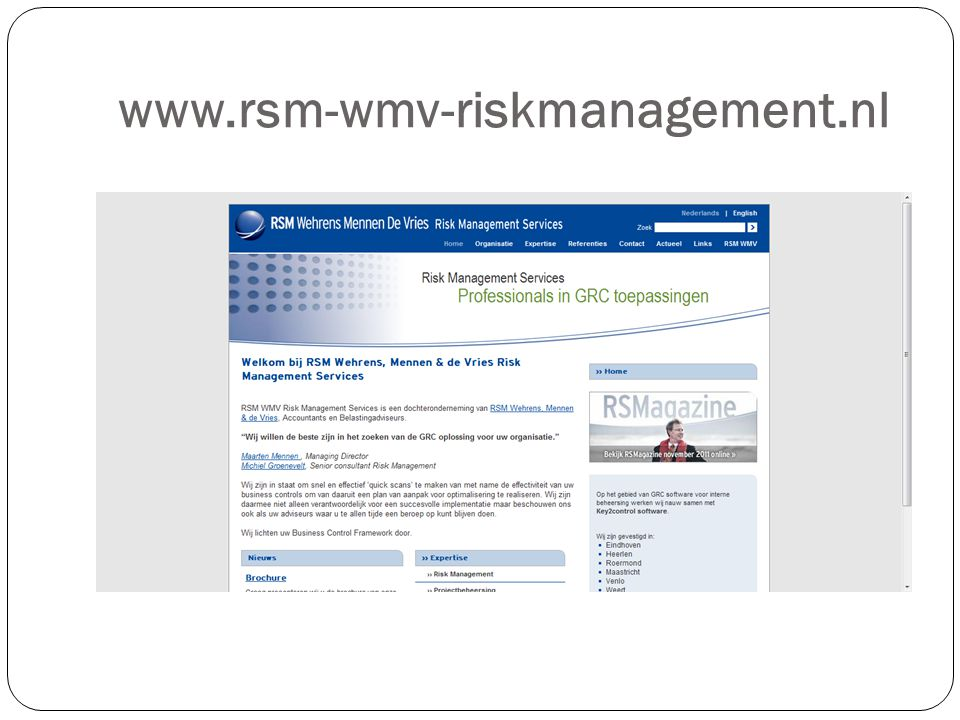 www.rsm-wmv-riskmanagement.nl