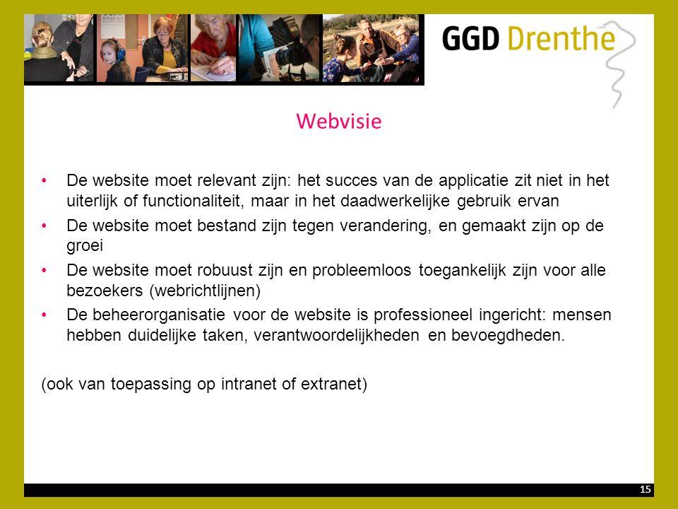 Webvisie