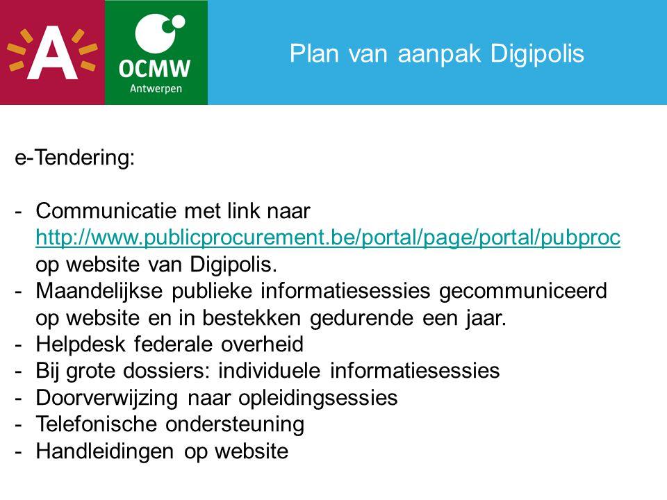 Plan van aanpak Digipolis