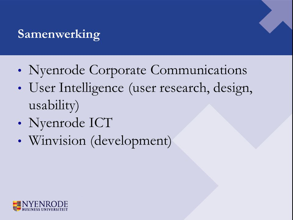Nyenrode Corporate Communications