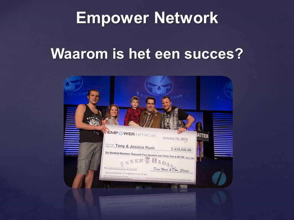 Empower Network Waarom is het een succes