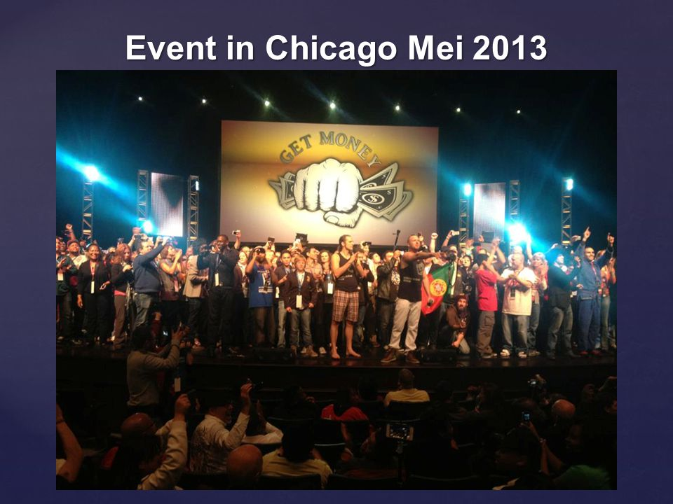 Event in Chicago Mei 2013