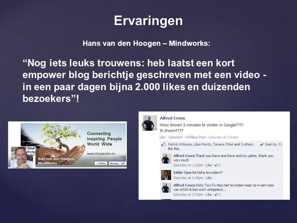 Hans van den Hoogen – Mindworks: