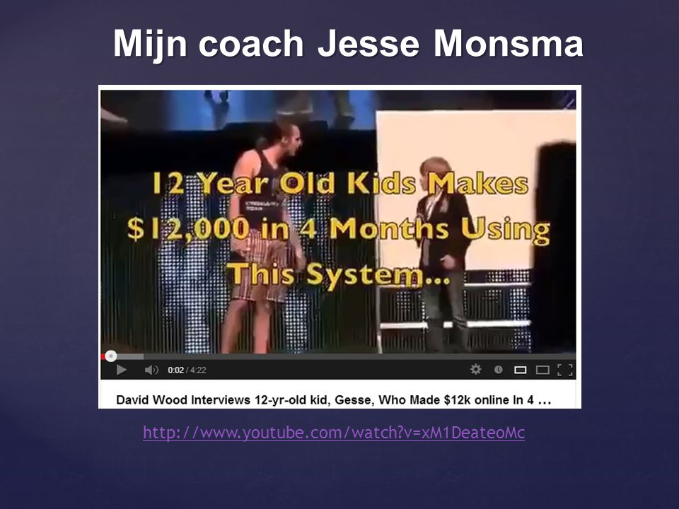 Mijn coach Jesse Monsma