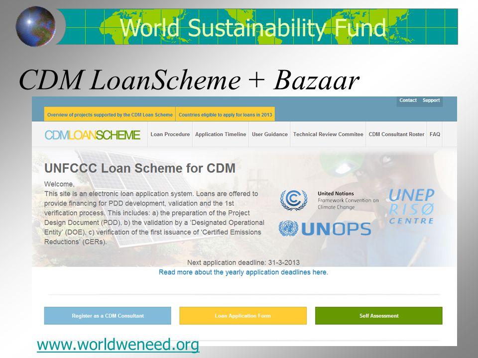 CDM LoanScheme + Bazaar