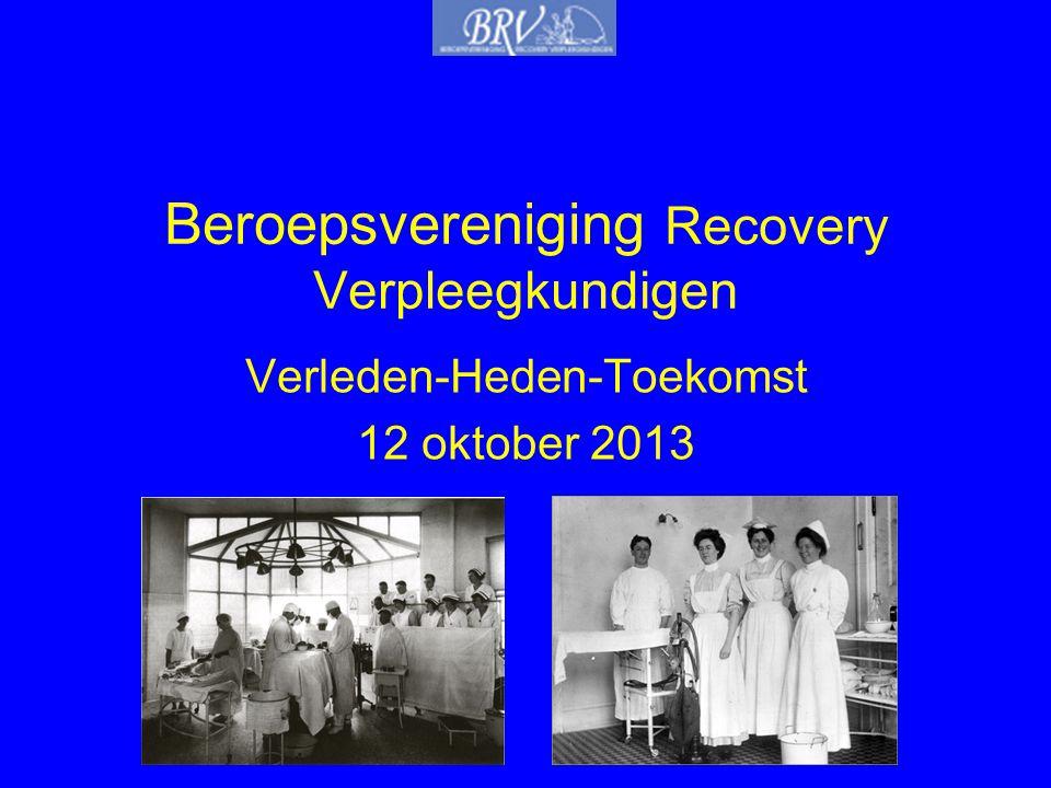 Beroepsvereniging Recovery Verpleegkundigen
