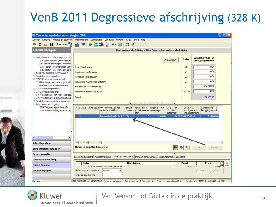 VenB 2011 Degressieve afschrijving (328 K)
