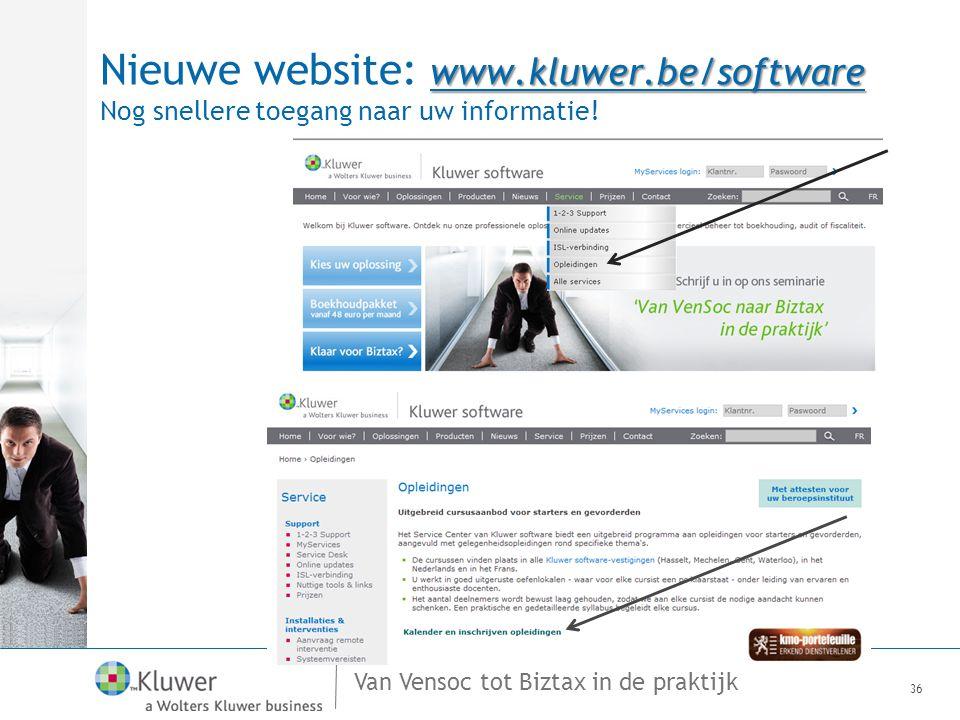 Nieuwe website: www. kluwer
