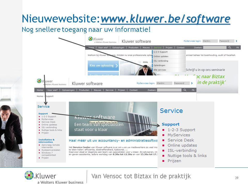 Nieuwewebsite:www. kluwer