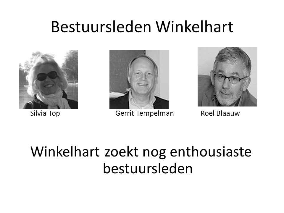 Bestuursleden Winkelhart